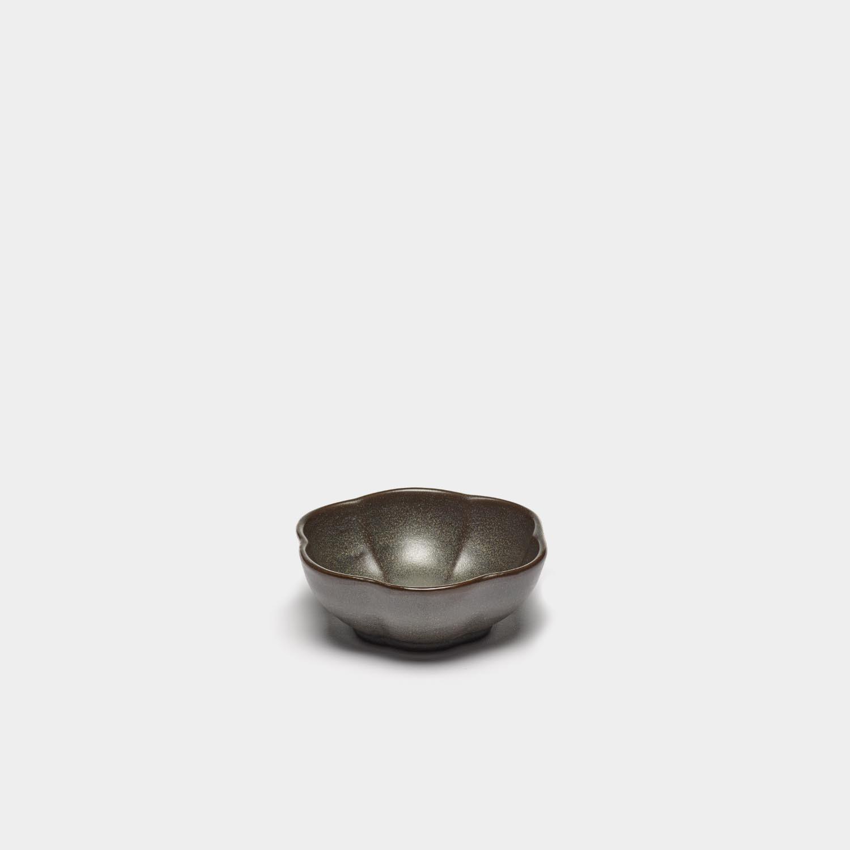 Bowl Inku Ribbed, Green, Medium