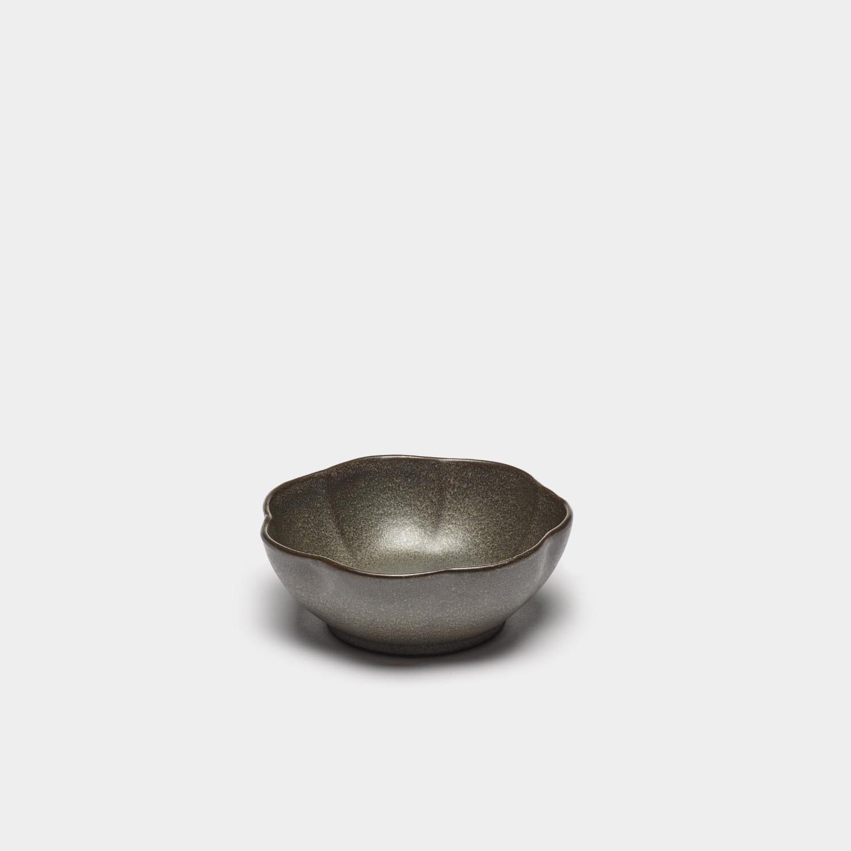 Bowl Inku Ribbed, Green, Large