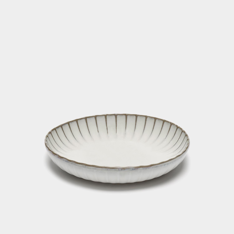 High Dinner Plate Inku, White, Large