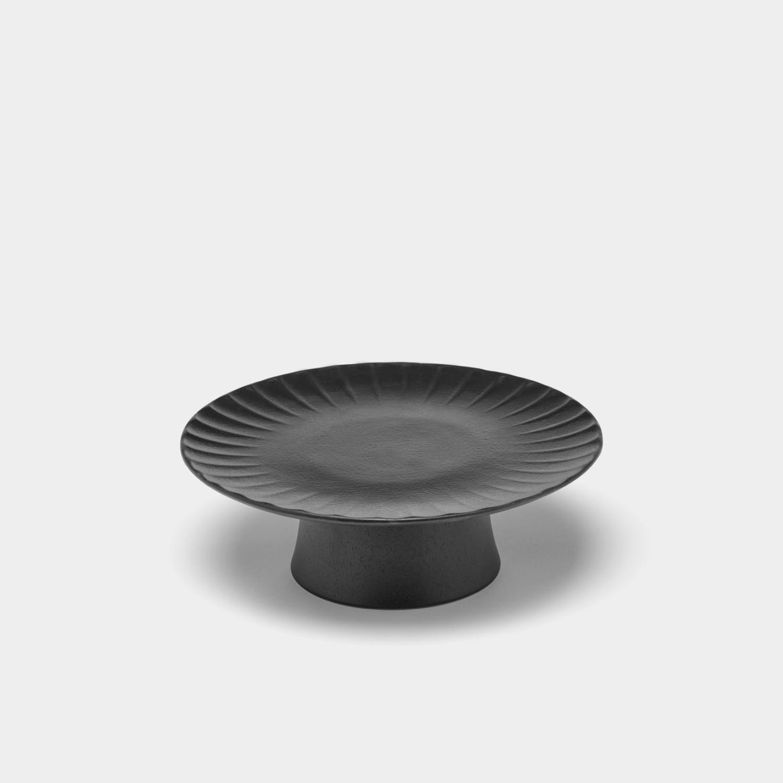 Cake Stand Inku, Black, Medium