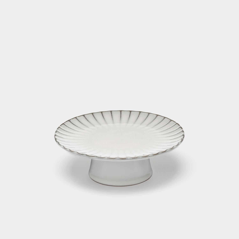 Cake Stand Inku, White, Medium