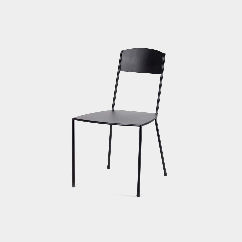 Adriana Chair, Matte Black