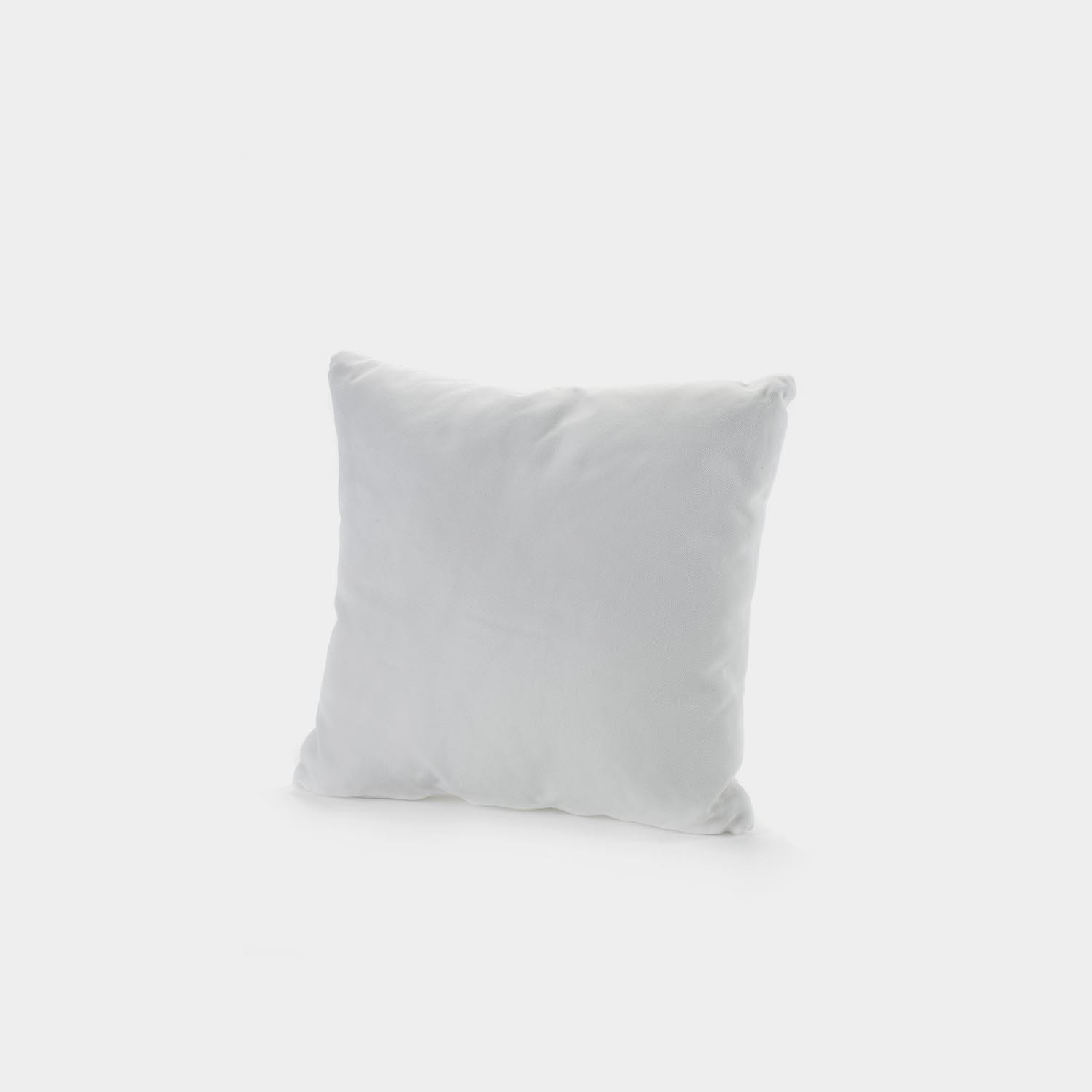 Fish & Fish Decorative Square Cushion, White/Alba