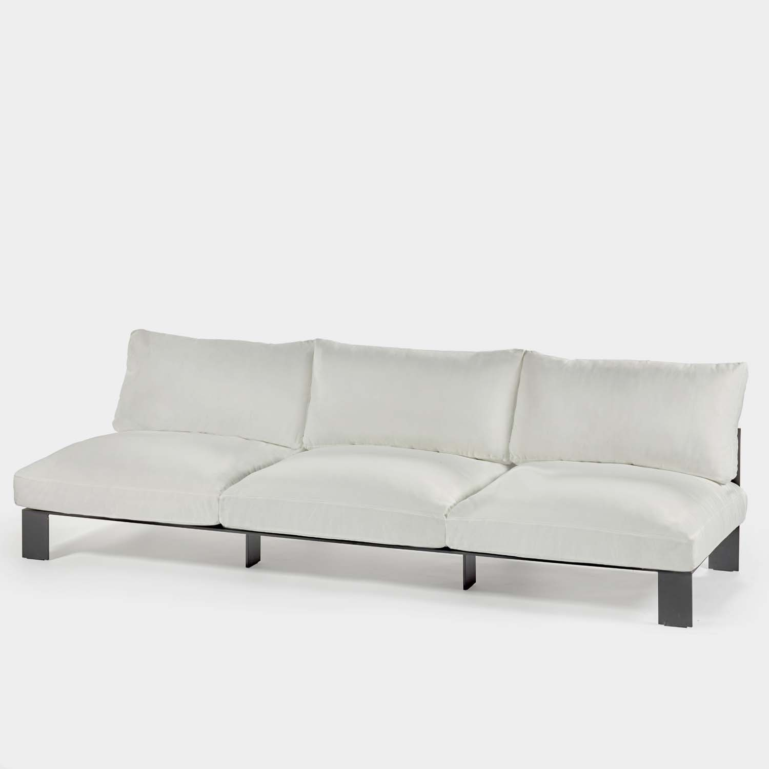 Sofa, Three-seater, Outdoor
