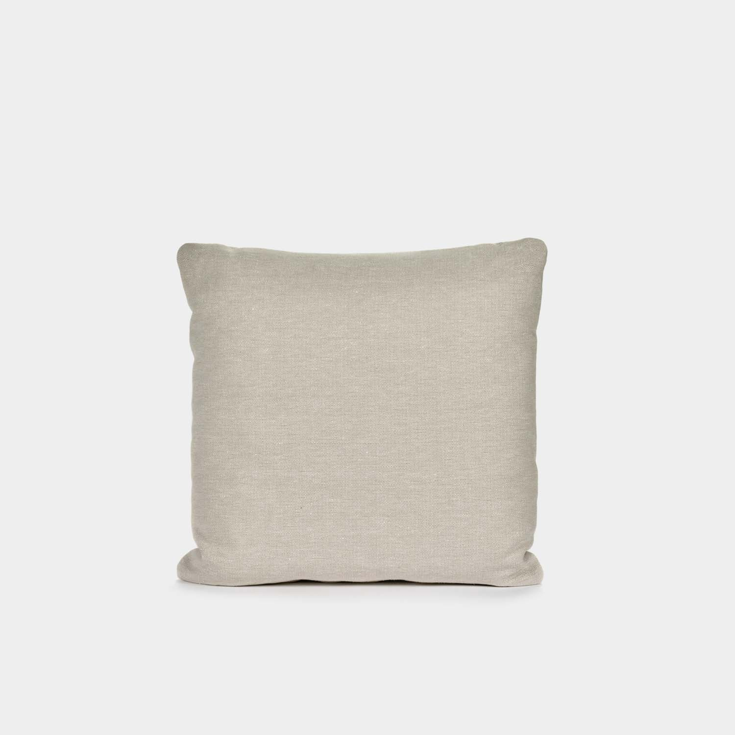 Decorative Cushion, Square, Ivory Cotton