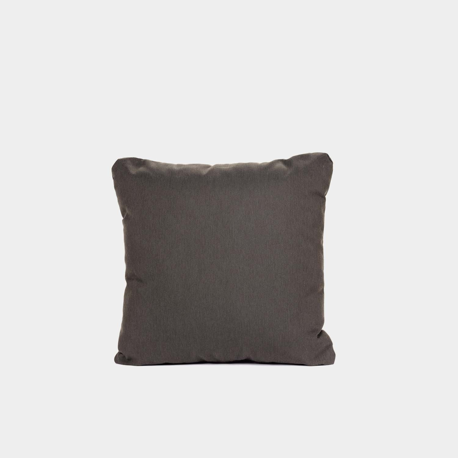 Decorative Cushion, Square, Outdoor, Black Brown