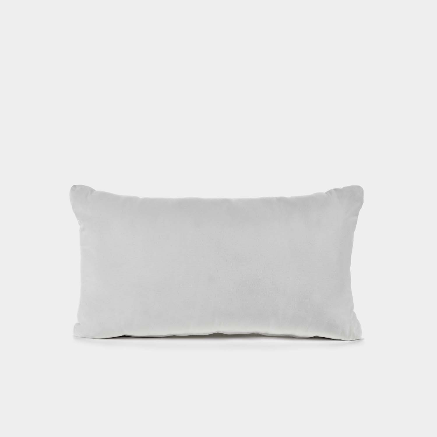 Decorative Cushion, Rectangular, Outdoor, White