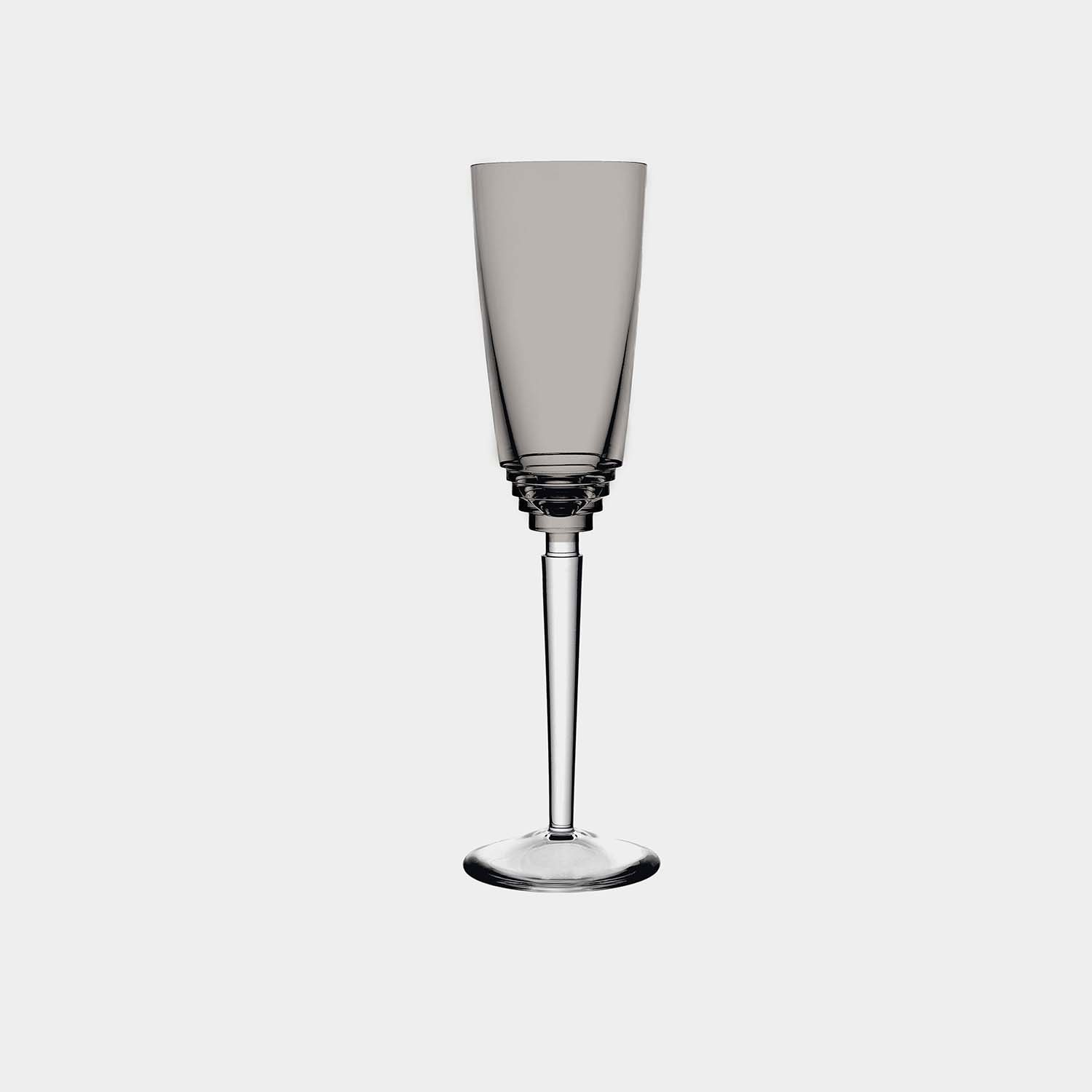 Oxymore Champagne Flute, Flannel Gray