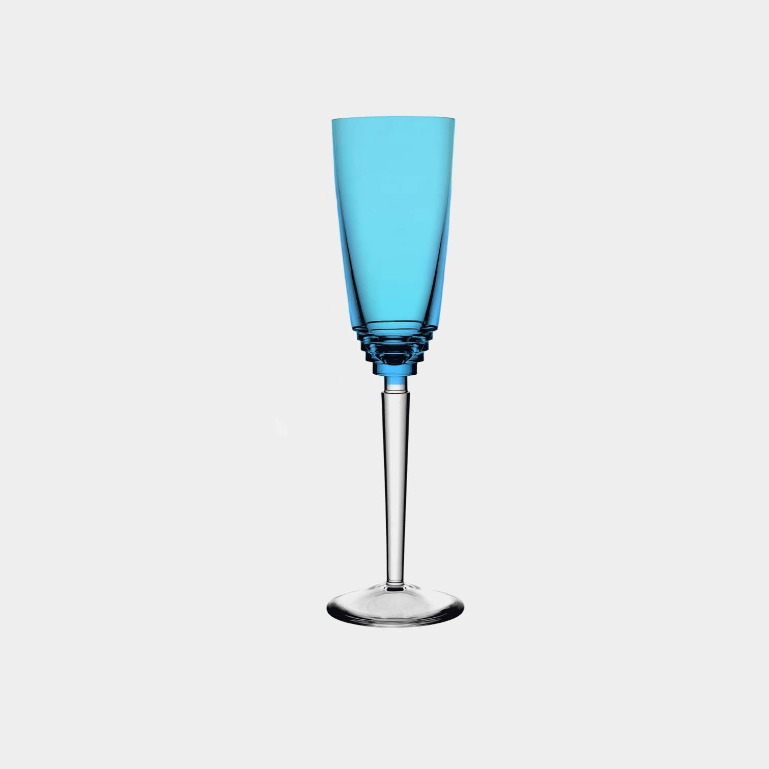 Oxymore Champagne Flute, Sky Blue