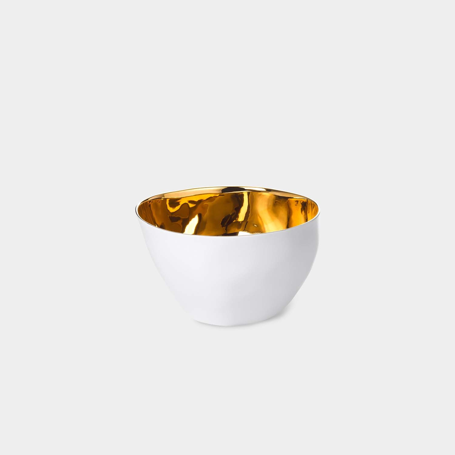Large Bowl, Gold