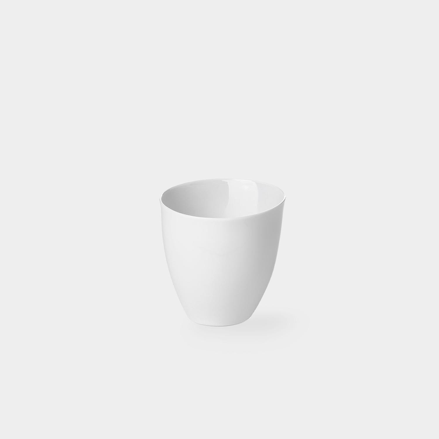 Tea Cup White Porcelain