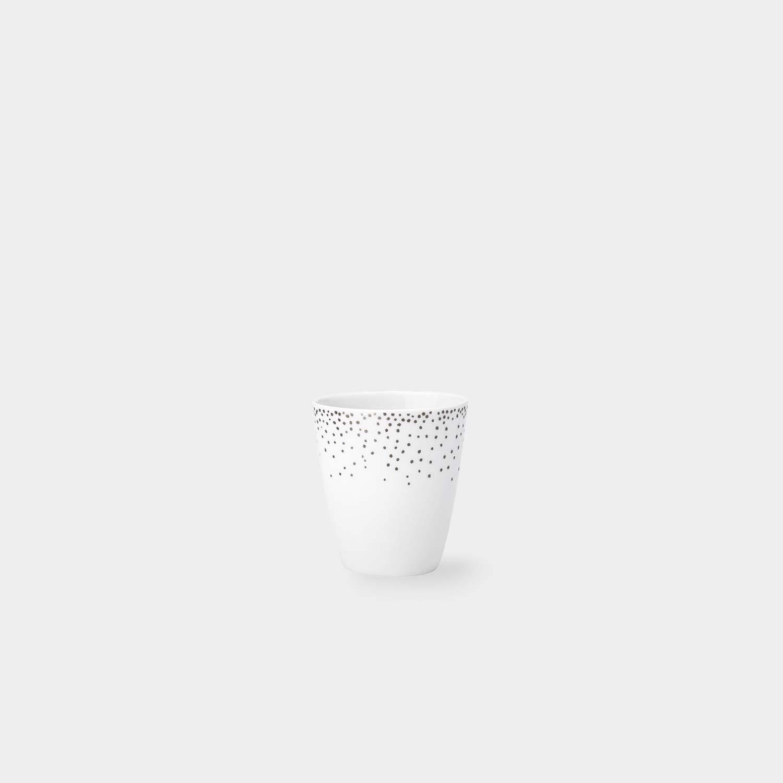 Espresso Cup Platinum Confettis