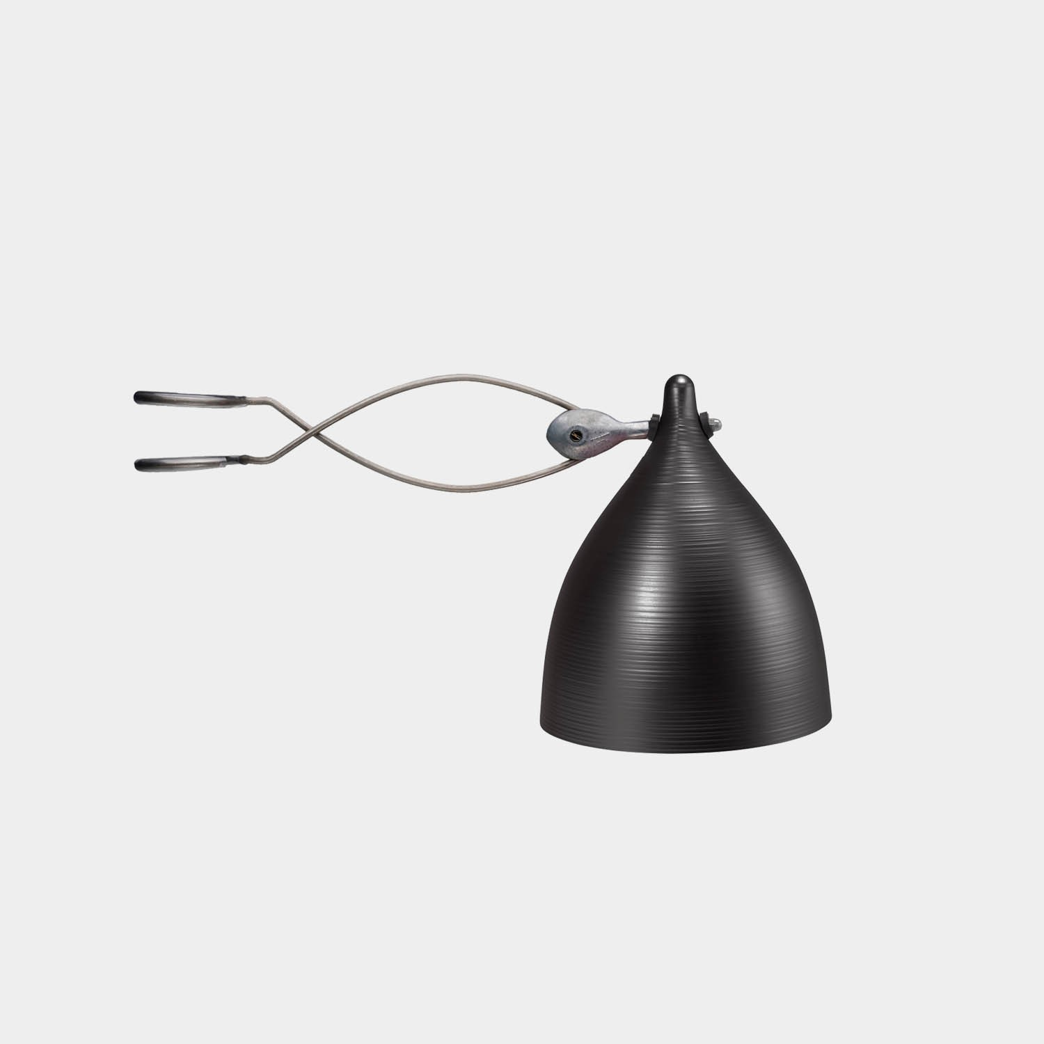 Clip-on Lamp Cornet Wimple Shade
