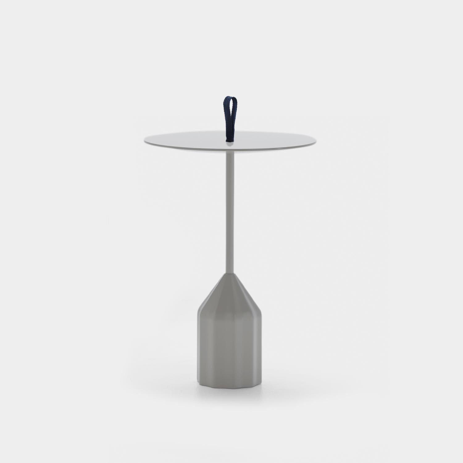 Burin Mini Side Table with Handle