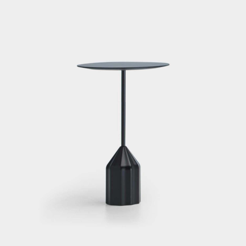 Burin Mini Side Table, Black