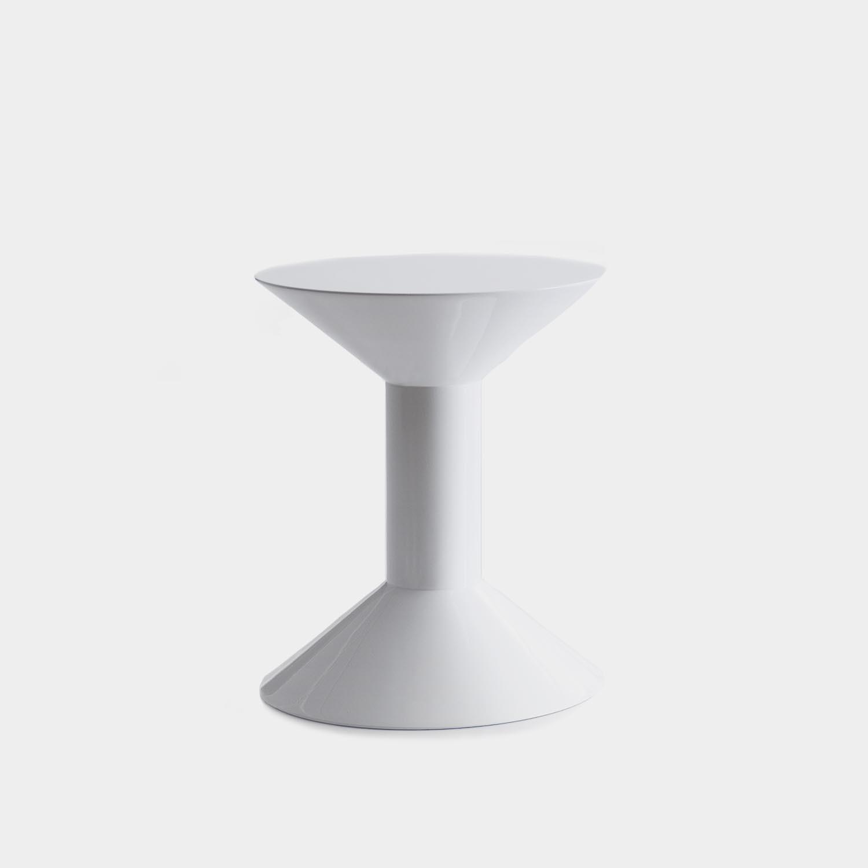 Shape Side Table, Model H, High-gloss Finish