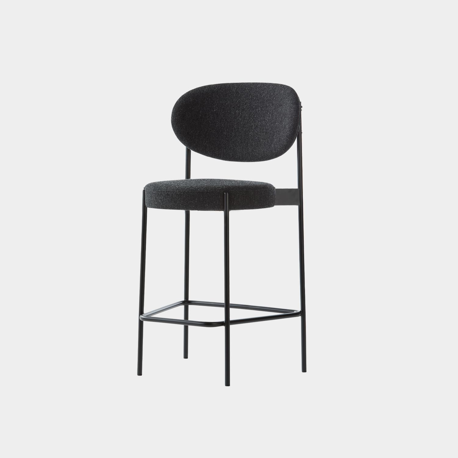 Series 430 Counter Chair, Black Frame