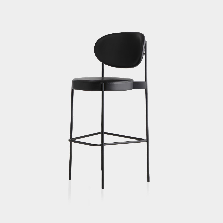 Series 430 Bar Chair, Black Frame