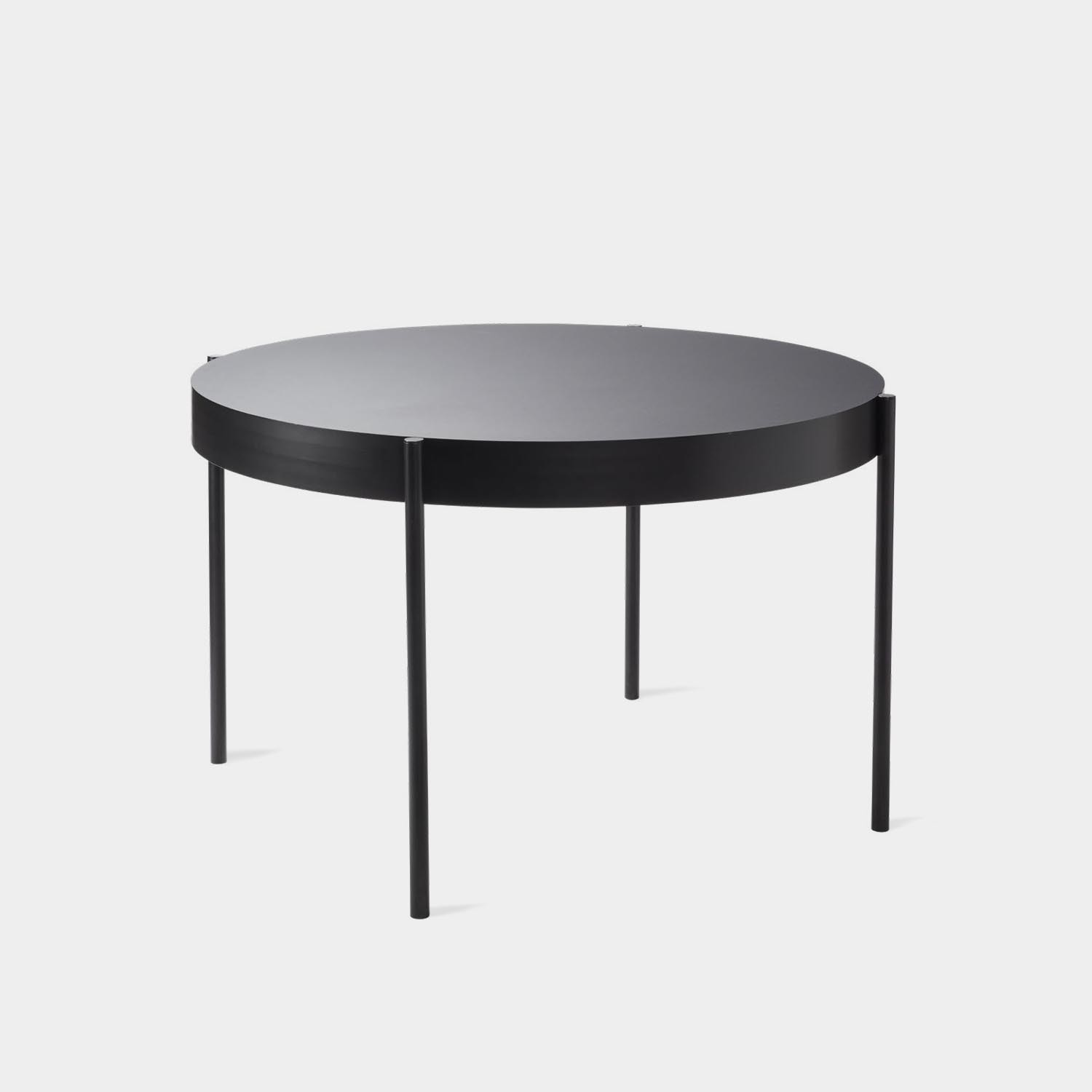 Series 430 Round Table, Black