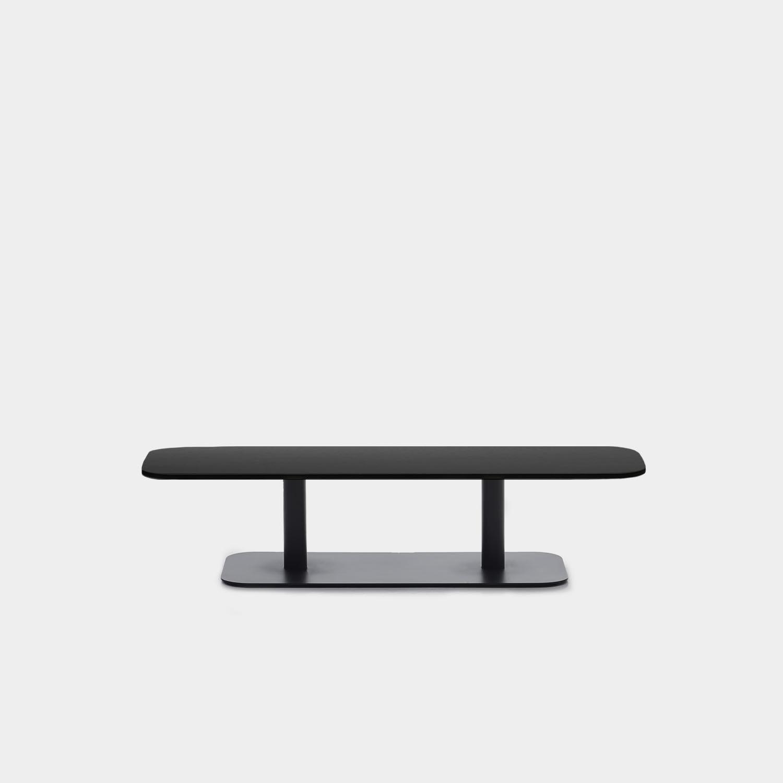 Kodo Coffee Table, Aluminum Top