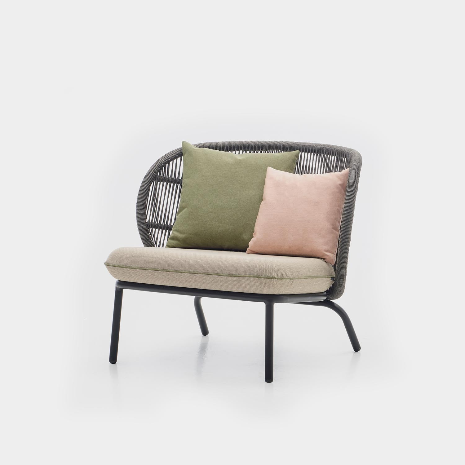Kodo Lounge Chair with Deco Cushions