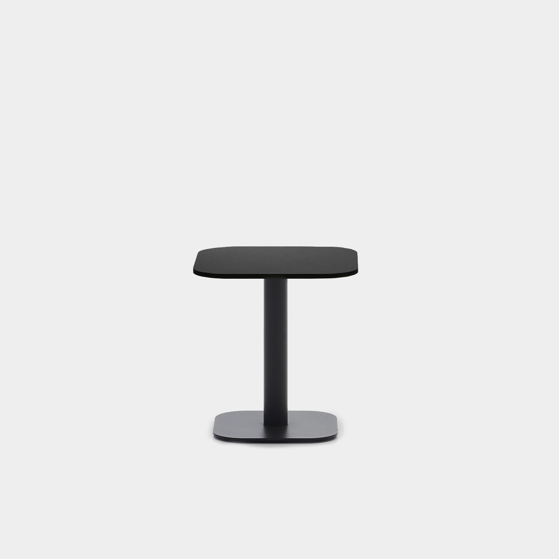 Kodo Side Table, Aluminum Top