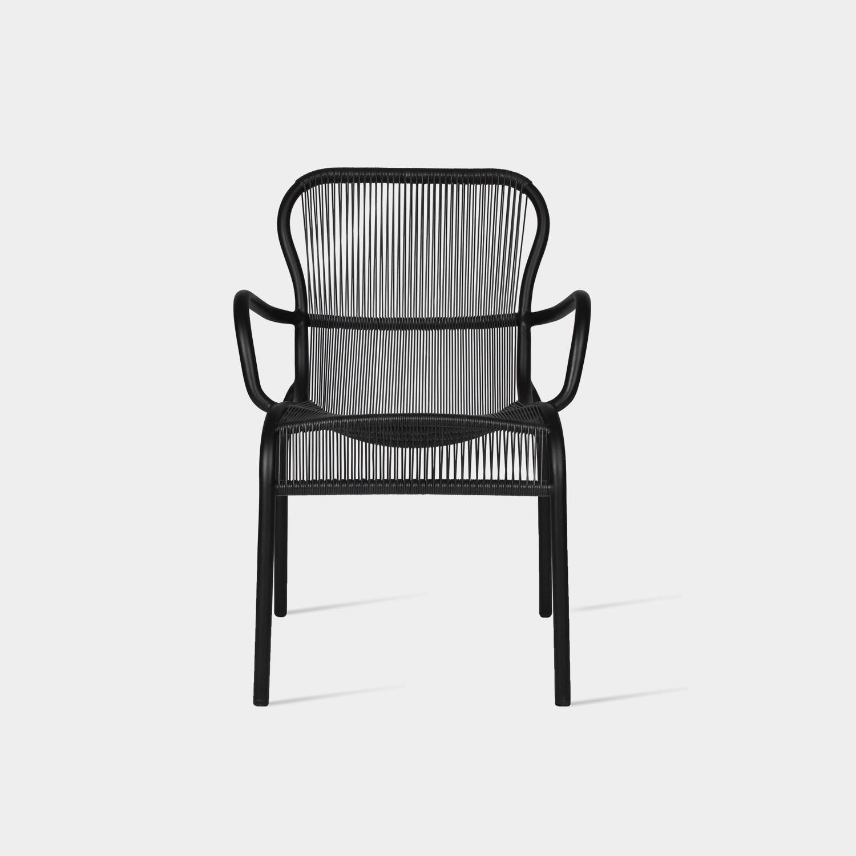 Loop Dining Chair, Black