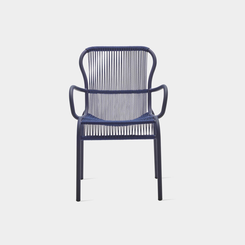 Loop Dining Chair, Indigo