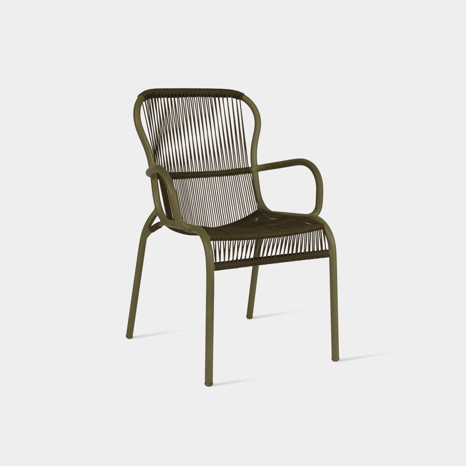 Loop Dining Chair, Moss