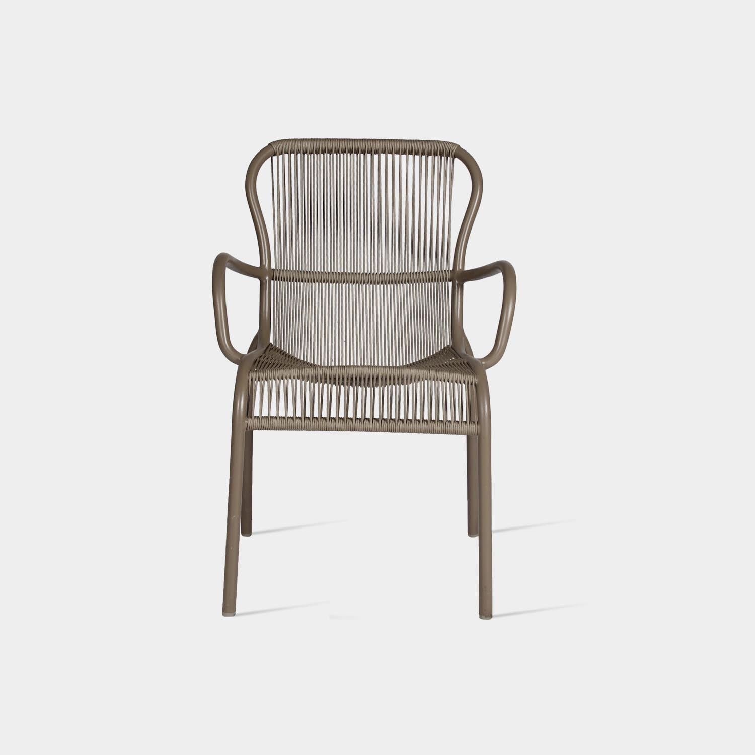 Loop Dining Chair, Taupe