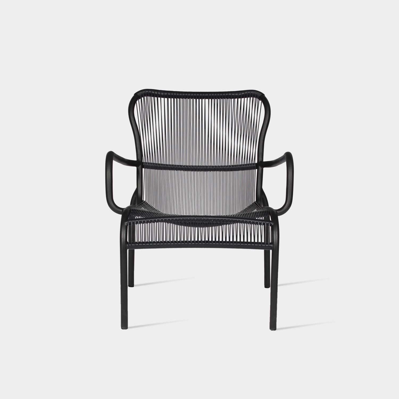 Loop Lounge Chair, Black