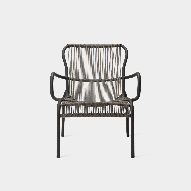 Loop Lounge Chair, Gray