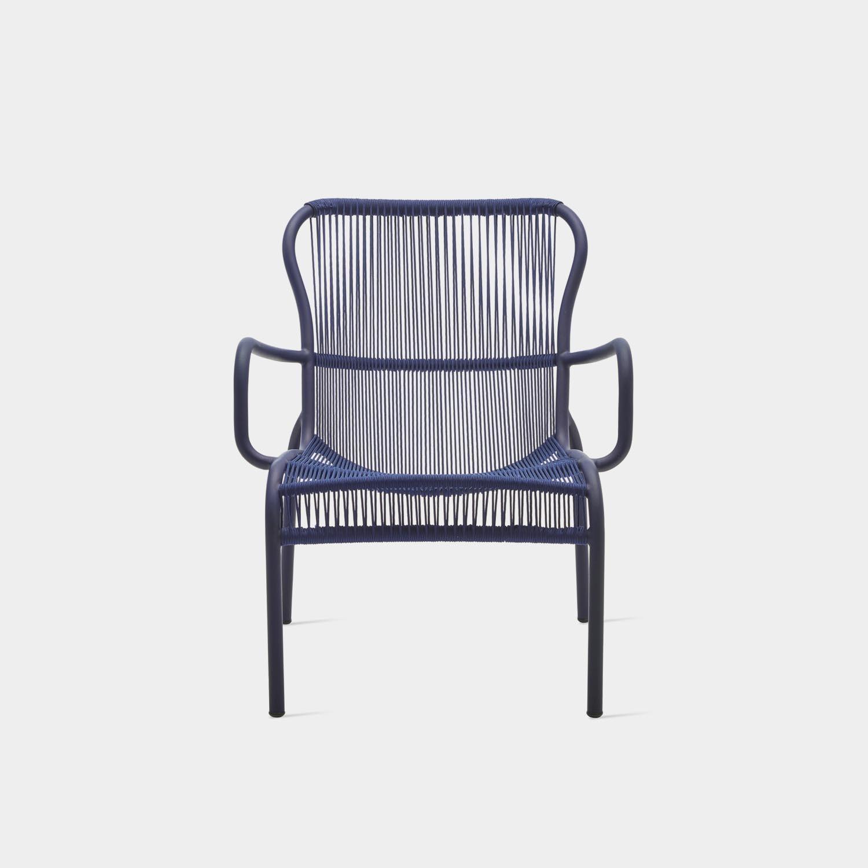 Loop Lounge Chair, Indigo