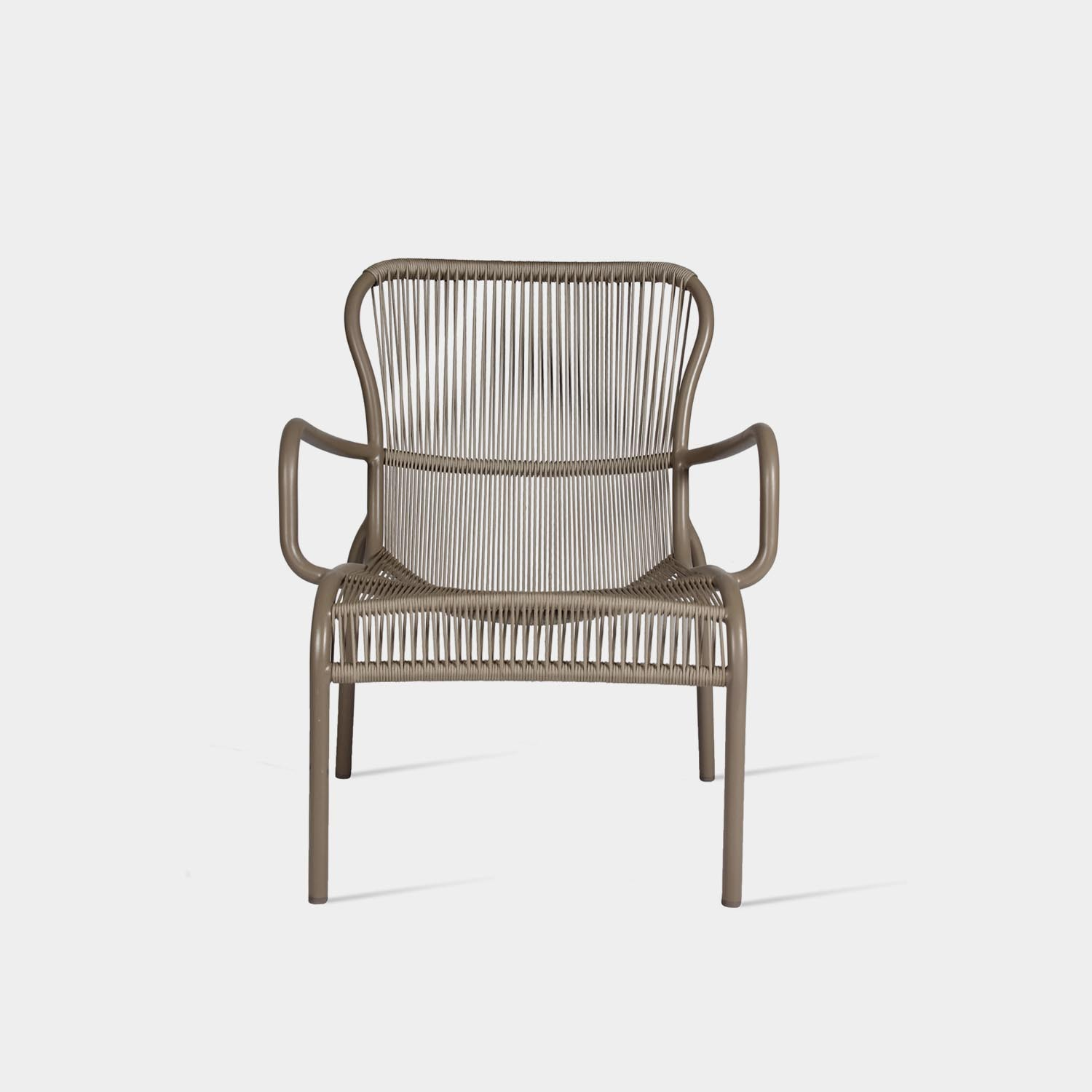 Loop Lounge Chair, Taupe