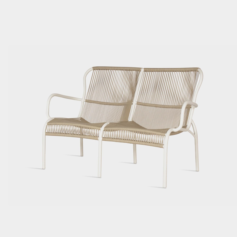 Loop Sofa, Beige/Stone White
