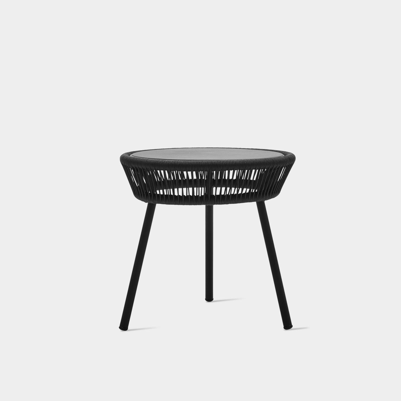 Loop Side Table, Black