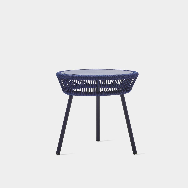 Loop Side Table, Indigo