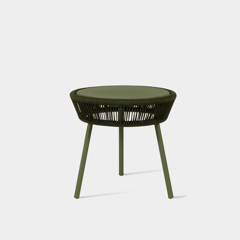 Loop Side Table,  Moss