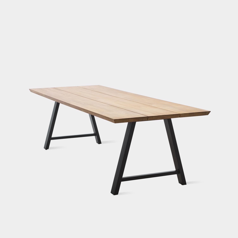 Matteo Dining Table, Black Base