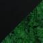 Green Marble Legs / Black Ash Top