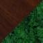 Green Marble Legs / Walnut Top